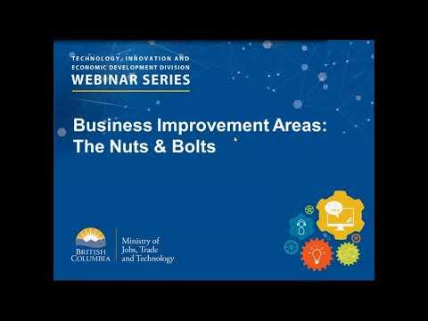 Economic Development with Business Improvement Associations