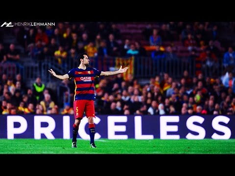 Sergio Busquets ● Bossing The Midfield ● 2015-16