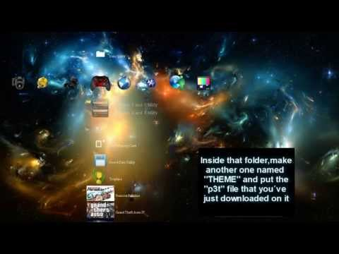 PS3 Theme (Custom made) FREE DOWNLOAD