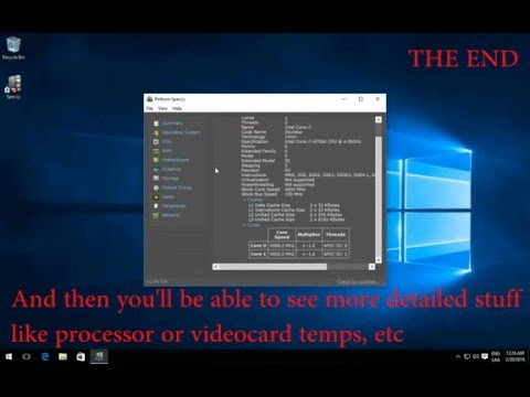How to Find Your Computer Specs in Windows 10