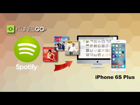 How to Download Music from Spotify to iPhone 6S Plus Free on Mac & Windows 10