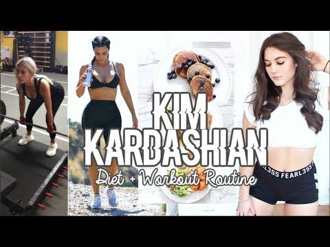Trying KIM KARDASHIAN'S Diet & Workouts