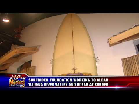 Cerveza Imperial Commissioned Surfboards by Aaron Chang on Display at California Surf Museum (H3)