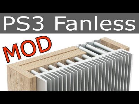 PS3 Fanless / Ultimate PlayStation 3 Super Slim passive cooling mod