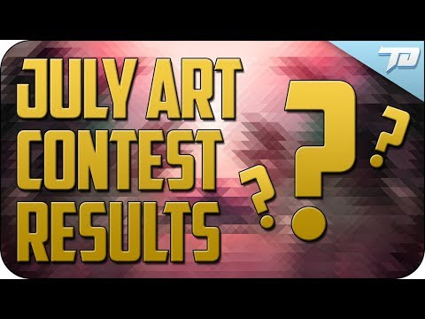 Amazing July Art Contest Results + Future Contest Updates