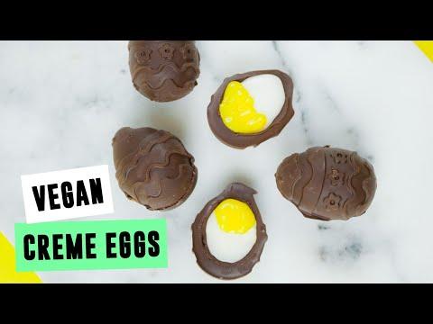 Vegan Creme Eggs | SO VEGAN