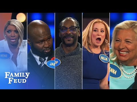 Top 5 Celebrity Moments for Season 2! | Celebrity Family Feud
