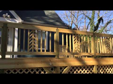 Forestieri Exteriors - Building a Deck, Lattice and Fence
