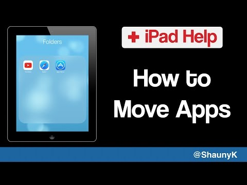 iPad Help - How to Move Apps