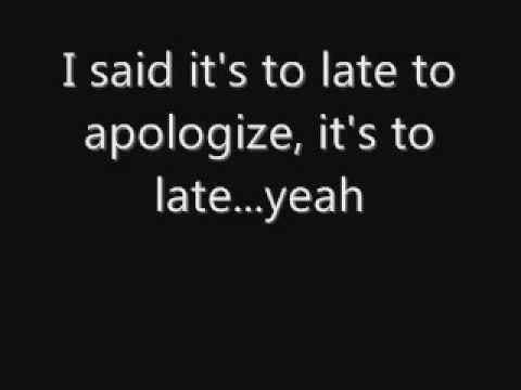 OneRepublic - Apologize (Lyrics)