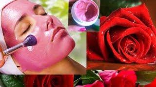 rose flowers face pack बनाने की विधि how to Get glowing Bright Fair skin