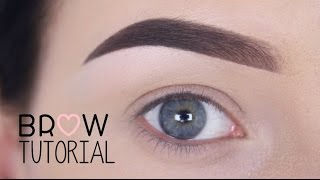 Brow tutorial / using Anastasia Beverly Hills - MAKEUPBYAN