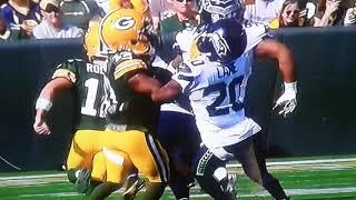 bad Calls- packers vs Seahawks 9-10-17
