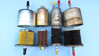 What does the inside of a Fuel Filter look like after 300,000 miles?
