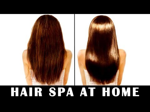 How To Do HAIR SPA At Home For Soft, Shiny & Silky Hair (Step By Step)   Happy Pink Studio