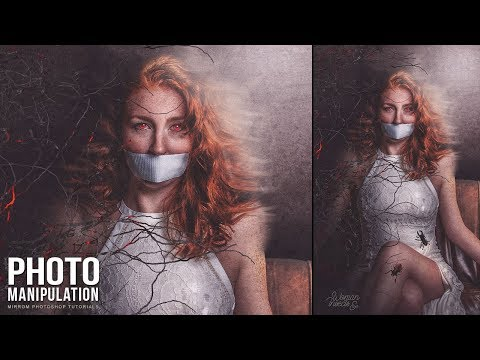 Create a Woman and Insects Deigital Art Photo Manipulation in Photoshop CC