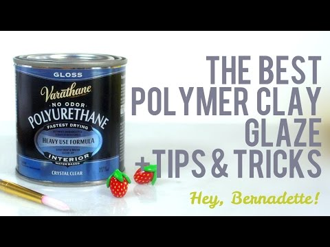 The Best Glaze for Polymer Clay + Tips & Techniques