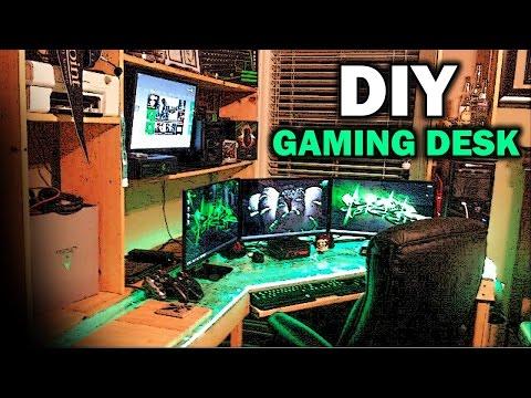 Ultimate DIY Gaming Desk