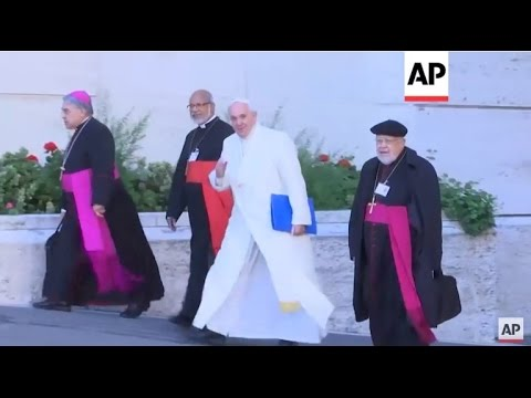 Vatican City - Pope meets cardinals on closing day of Synod | Editor's Pick | 24 Oct 15