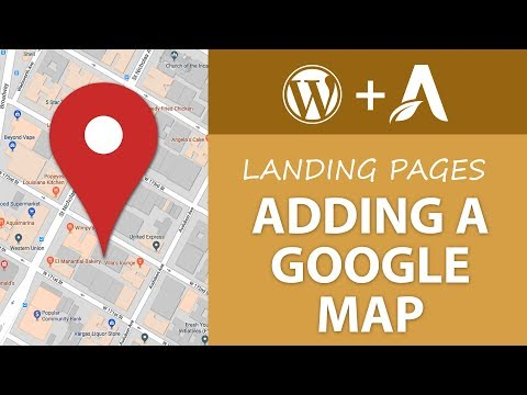 How to Add a Google Map to your Website - Learn Thrive Architect