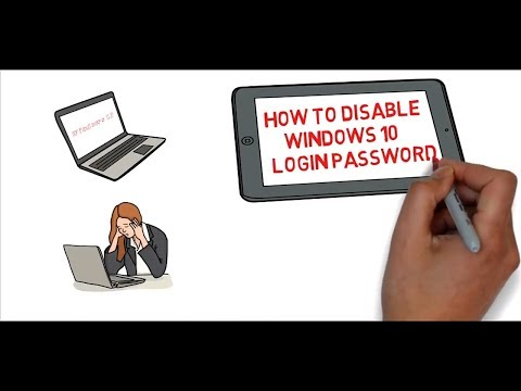 How to disable Windows 10 Login password