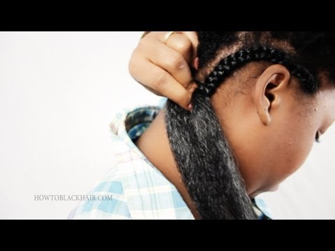 How To Do Cornrow French Braids Supplies Tutorial Part 1