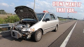 We Almost Blew Up Our Turbo Minivan
