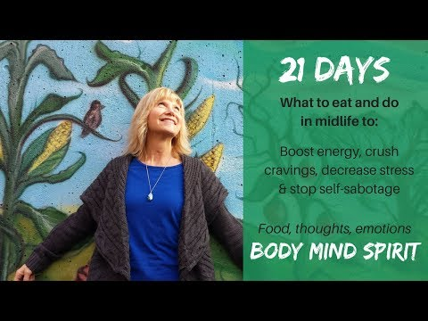 About my 21 Day Menopause Eating Program starting April 30, 2018 - SALE!