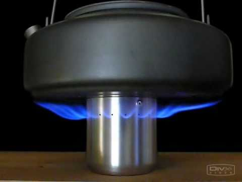 How to make Side-Jet Alcohol Stove