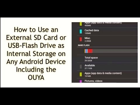 HOW TO USE A MICRO SD CARD AS INTERNAL STORAGE ON ANY ANDROID DEVICE -- BOOST STORAGE UP TO 256GB