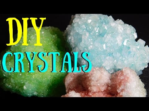 How to make BIG Crystals at Home (DIY) Tumblr Kids Experiment
