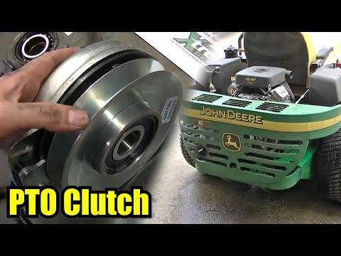 John Deere 757 ZTRAK PTO Clutch Replacement