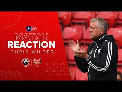 Chris Wilder   Sheffield United v Arsenal   Emirates FA Cup reaction