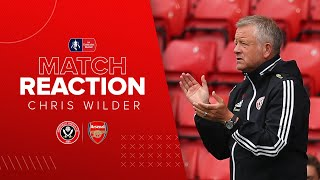 Chris Wilder | Sheffield United v Arsenal | Emirates FA Cup reaction