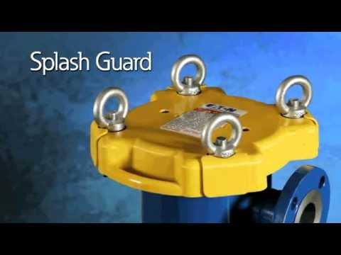 Eaton Filtration: New Splash Guard Feature for Flowline Bag Filter Housings