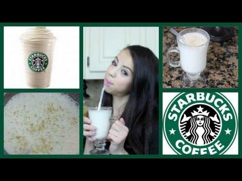 DIY! Starbucks Vanilla Bean!