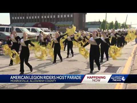 Monroeville's Memorial Day parade brings crowds out to Route 22