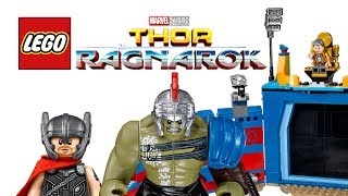 LEGO Thor Ragnorak 2017 sets - My Thoughts!