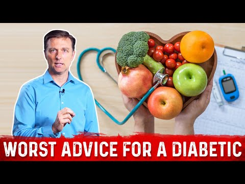 The Worst Advice for a Diabetic