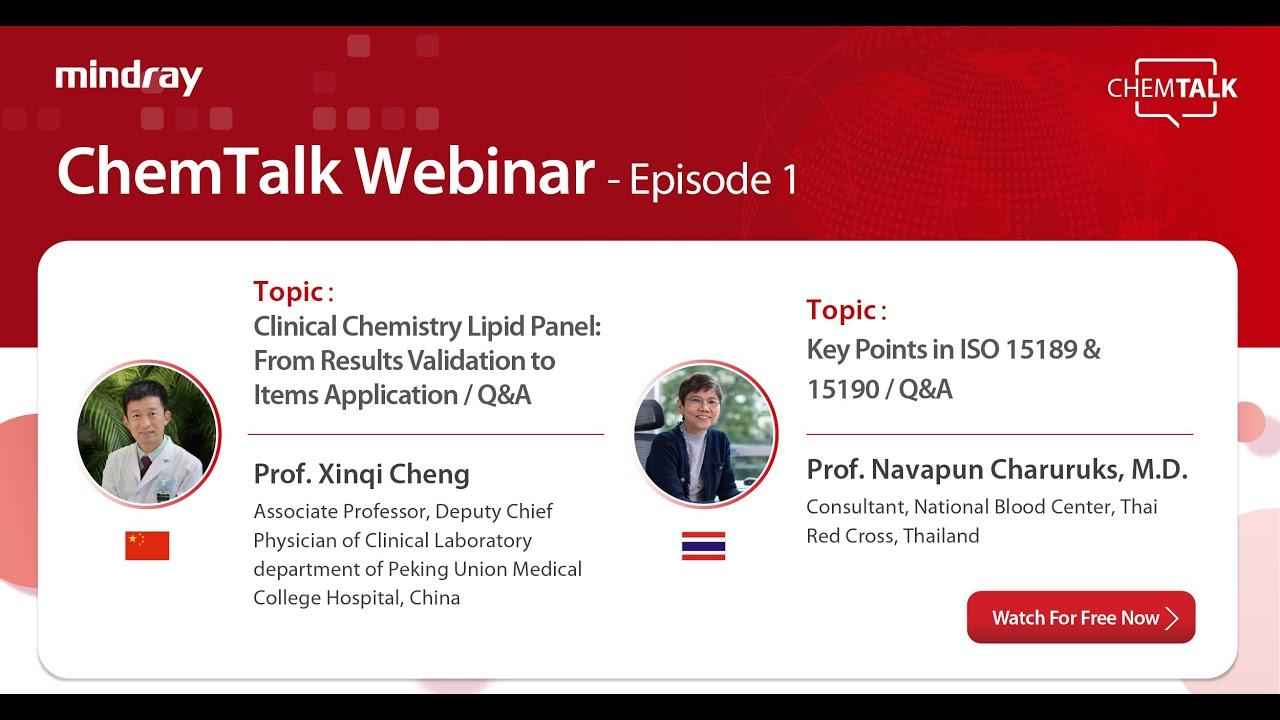 ChemTalk Webinar Episode1