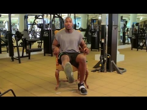 Chair Exercises to Strengthen Legs : Sports Conditioning & Fitness