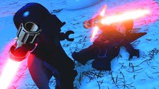 LEGO Star Wars The Force Awakens Darth Vader VS Kylo Ren Final Boss Fight