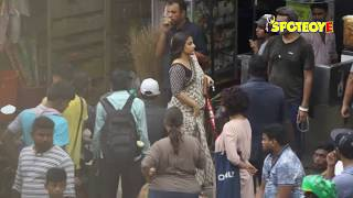 SPOTTED: Vidya Balan on the Sets of Tumhari Sulu | SpotboyE