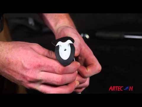 ARTECHSKI: How To Install Hand Guards on Alpine Poles