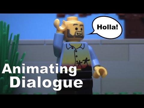 Lego Animation Tutorial: Animating Dialogue