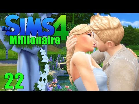 WEDDING DAY! - Sims 4 - The Sims 4 Millionaire Ep.22