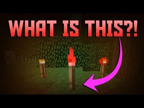 HIDDEN TORCH FOUND! - Minecraft PE 1.5.0.1