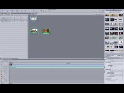 Como crear un DVD con menus usando DVD Studio Pro