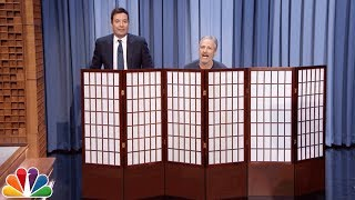 Jimmy & Jon Stewart Swap Pants, Announce Super Bowl Prize for