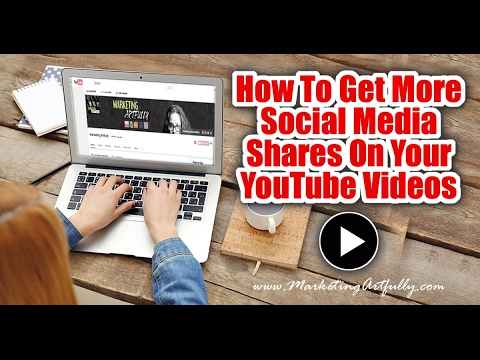 How To Get More Views To Your YouTube Videos From Social Media - Video Marketing